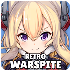Retro Warspite Ship Icon Azur Lane