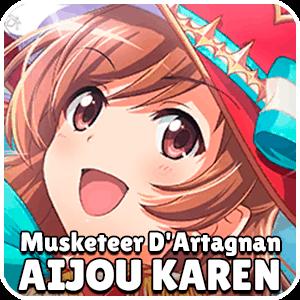 Aijou Karen Musketeer D Artagnan Character Icon Revue Starlight