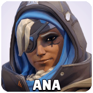 Ana Hero Icon Overwatch