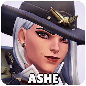 Ashe Hero Icon Overwatch