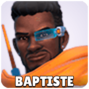 Baptiste Hero Icon Overwatch