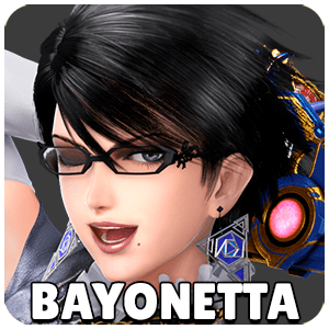 Bayonetta Character Icon Super Smash Bros Ultimate