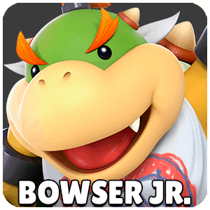 Bowser Jr. Character Icon Super Smash Bros Ultimate