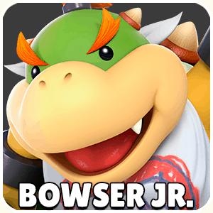 Bowser Jr. Character Icon Super Smash Bros Ultimate