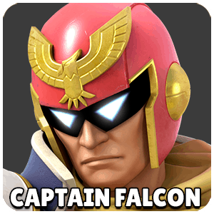 Captain Falcon Character Icon Super Smash Bros Ultimate
