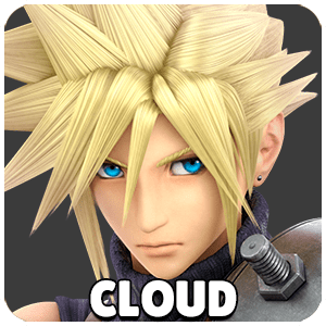 Cloud Character Icon Super Smash Bros Ultimate