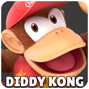 Diddy Kong Character Icon Super Smash Bros Ultimate