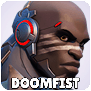 Doomfist Hero Icon Overwatch