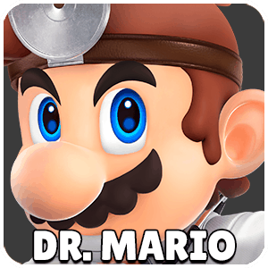 Dr Mario Character Icon Super Smash Bros Ultimate