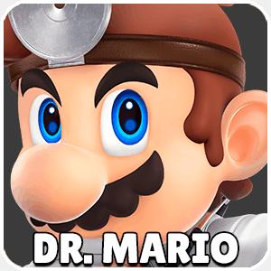 Dr Mario Character Icon Super Smash Bros Ultimate