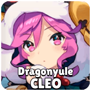 Dragonyule Cleo Character Icon Dragalia Lost