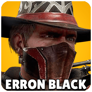 Erron Black Character Icon Mortal Kombat 11