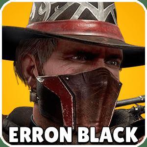 Erron Black Character Icon Mortal Kombat 11