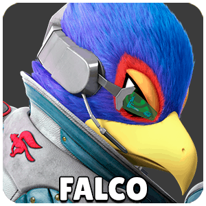 Falco Character Icon Super Smash Bros Ultimate