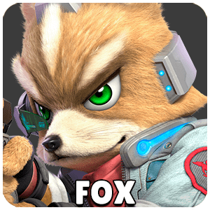Fox Character Icon Super Smash Bros Ultimate