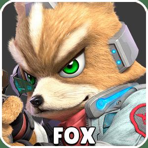 Fox Character Icon Super Smash Bros Ultimate