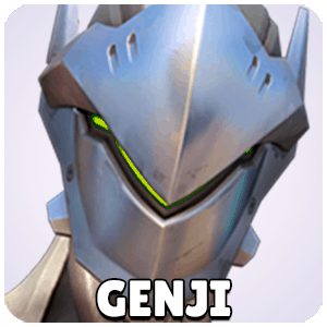 Genji Hero Icon Overwatch