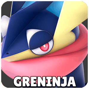 Greninja Character Icon Super Smash Bros Ultimate