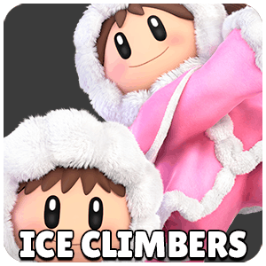 Ice Climbers Character Icon Super Smash Bros Ultimate