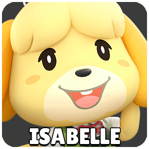 Isabelle Character Icon Super Smash Bros Ultimate