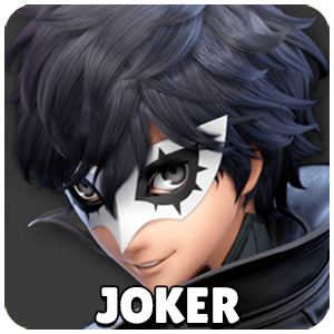 Joker Character Icon Super Smash Bros Ultimate