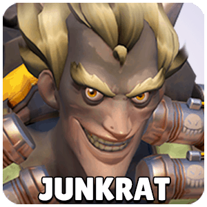 Junkrat Hero Icon Overwatch