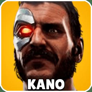 Kano Character Icon Mortal Kombat 11