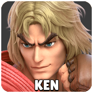 Ken Character Icon Super Smash Bros Ultimate