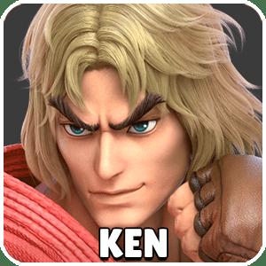 Ken Character Icon Super Smash Bros Ultimate