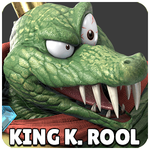 King K. Rool Character Icon Super Smash Bros Ultimate