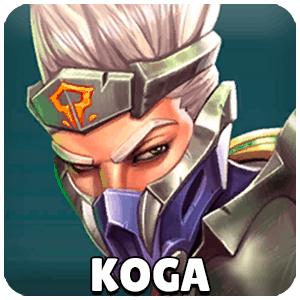 Koga Champion Icon Paladins