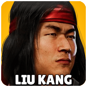 Liu Kang Character Icon Mortal Kombat 11