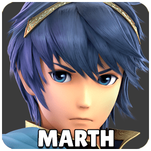 Marth Character Icon Super Smash Bros Ultimate