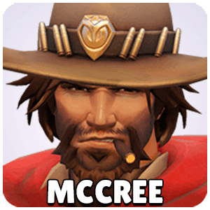 McCree Hero Icon Overwatch