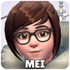 Mei Hero Icon Overwatch