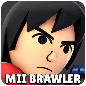 Mii Brawler Character Icon Super Smash Bros Ultimate