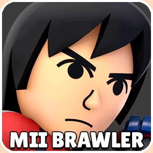 Mii Brawler Character Icon Super Smash Bros Ultimate