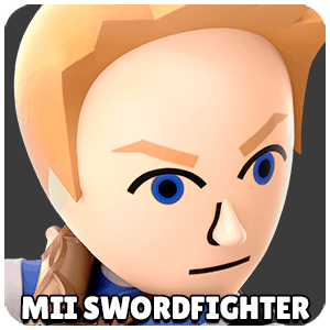 Mii Swordfighter Character Icon Super Smash Bros Ultimate