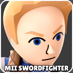 Mii Swordfighter Character Icon Super Smash Bros Ultimate