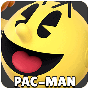 Pac-Man Character Icon Super Smash Bros Ultimate