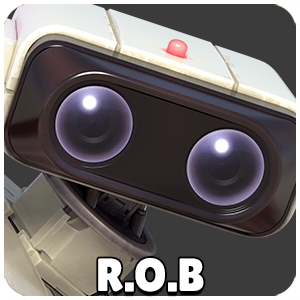 R.O.B Character Icon Super Smash Bros Ultimate
