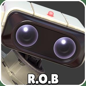 R.O.B Character Icon Super Smash Bros Ultimate