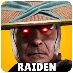 Raiden Character Icon Mortal Kombat 11