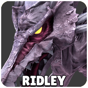 Ridley Character Icon Super Smash Bros Ultimate