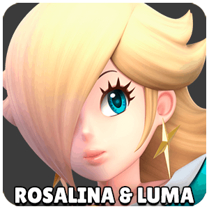 Rosalina and Luma Character Icon Super Smash Bros Ultimate