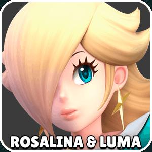 Rosalina and Luma Character Icon Super Smash Bros Ultimate