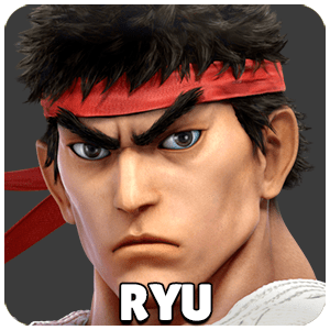 Ryu Character Icon Super Smash Bros Ultimate