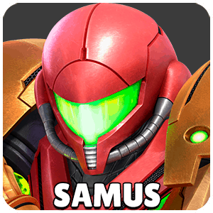 Samus Character Icon Super Smash Bros Ultimate