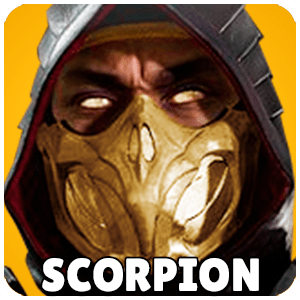 Scorpion Character Icon Mortal Kombat 11