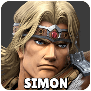 Simon Character Icon Super Smash Bros Ultimate